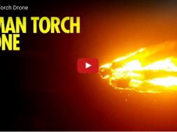 The Human Torch Drone
