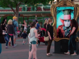 Mad Hatter Experiential Marketing with Disneyland Resort in Anaheim