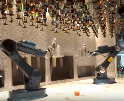 Robot Bartenders for Events