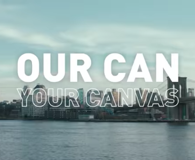 Our Can, Your Canvas, Miller Lite Marketing Agency