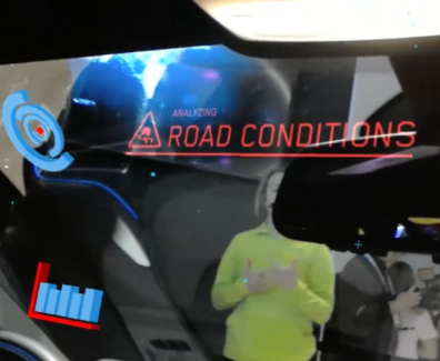 Intel at CES with BMW i8 Mixed Reality Experience